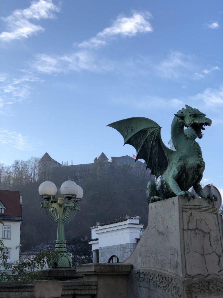 Ljubljana gezi rehberi, Dragon Bridge