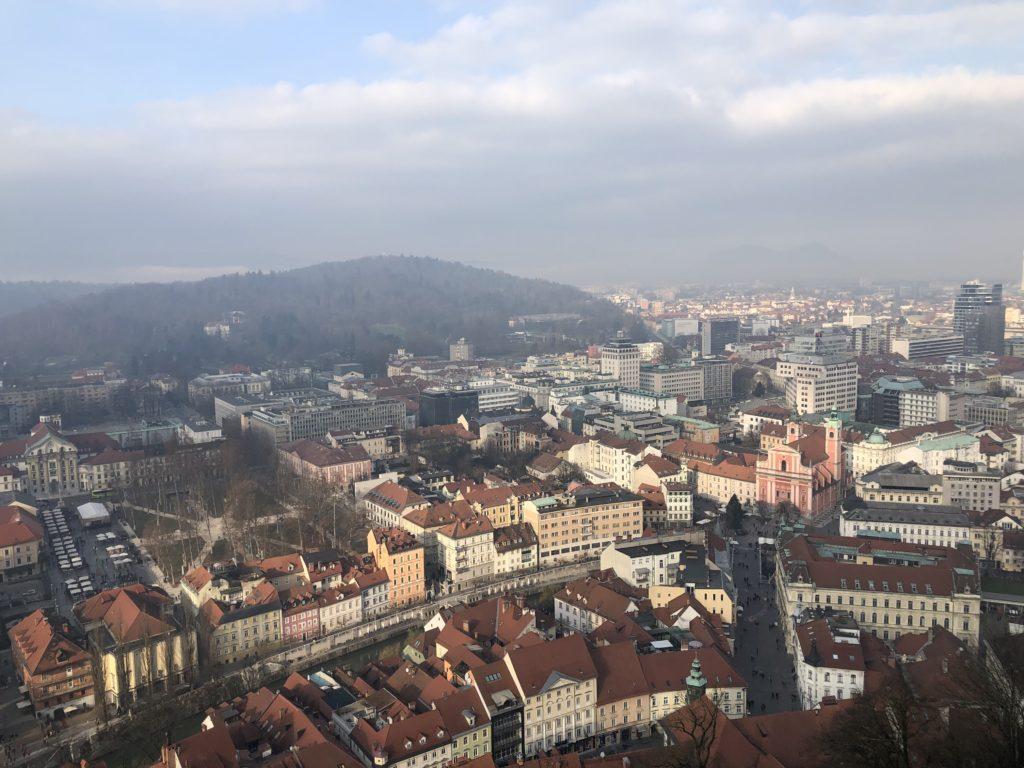 Ljubljana gezi rehberi, Ljubljana castle