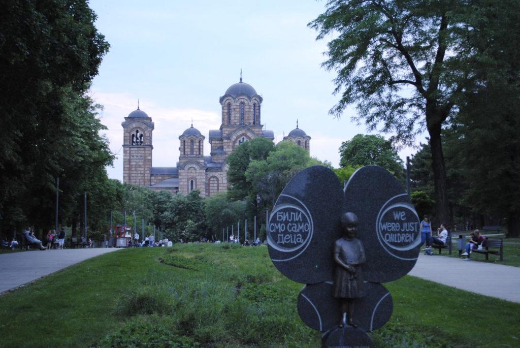 Belgrad gezi rehberi, Tasmajdan Park