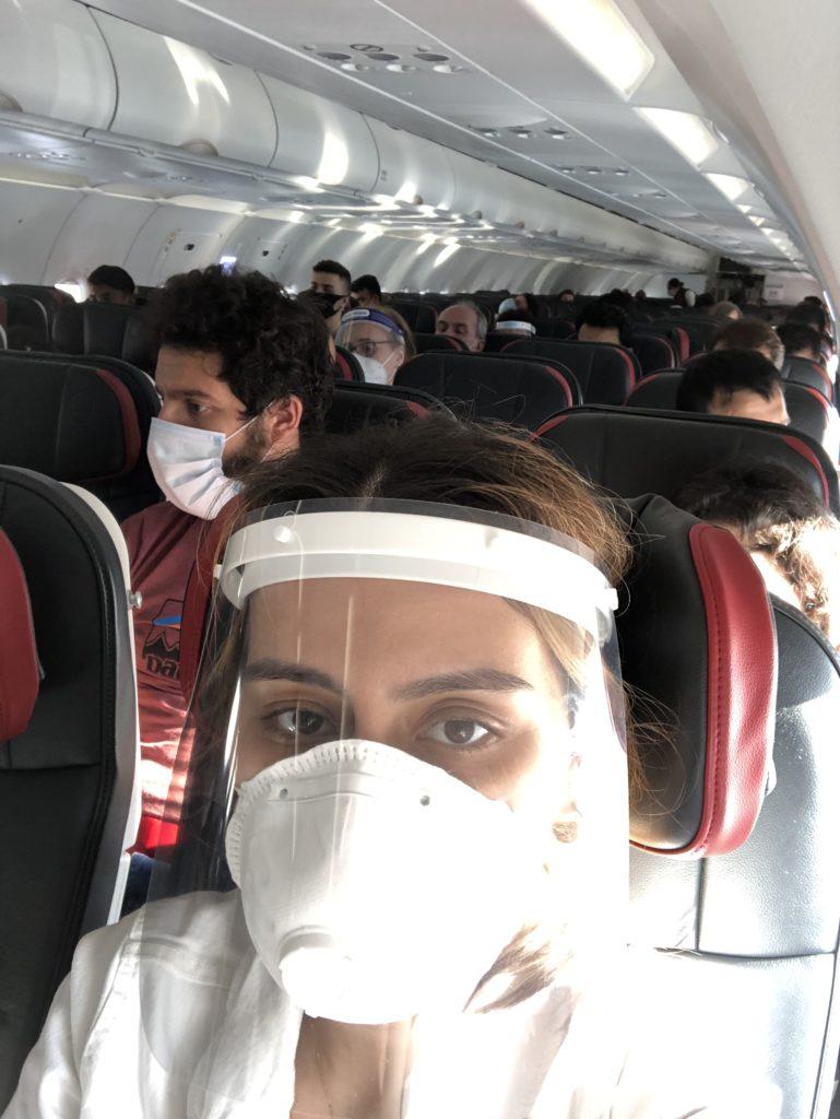 Corona döneminde yurt dışı uçuşları