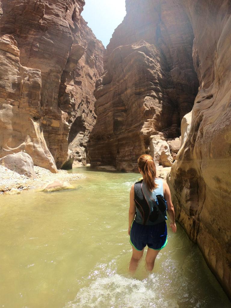 Wadi Mujib, Siq Trail