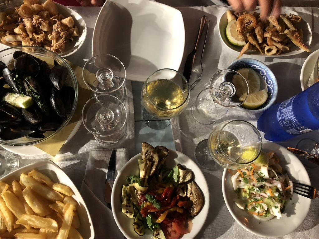 Puglia yeme içme rehberi, deniz mahsulleri